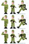 Soldier Stock Illustration