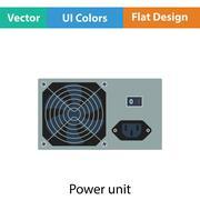 Power unit icon Stock Illustration