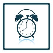 Icon of Alarm clock Stock Illustration