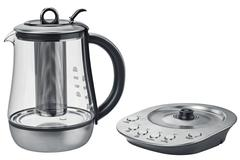 Electric kettle aluminum stand Stock Illustration