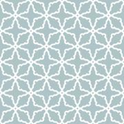 Seamless Pattern in Arabian Style Stock Illustration