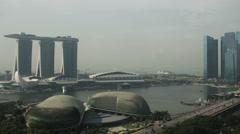 Singapore timelapse2 - stock footage