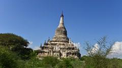Shwesandaw pagoda, bagan timelapse Stock Footage