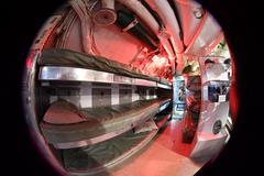 BALTIMORE, USA - JUNE 21 2016 - inside TORSK inside ii world war submarine vi Kuvituskuvat