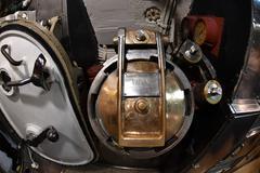 BALTIMORE, USA - JUNE 21 2016 - inside TORSK inside ii world war submarine vi - stock photo
