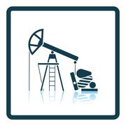 Oil pump icon Piirros