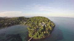 Aerial view of Ko Kut Island - Thailand Stock Footage