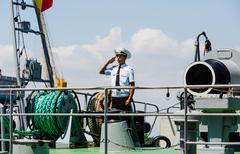 Ukrainian Naval Forces - stock photo