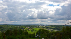 The Skyline in the suburb of Moscow. Stock Footage