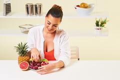 Fruit grape eating snack health healthy diet,weight loss grapefruit Kuvituskuvat