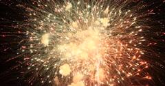 Spectacular celebration fireworks night DCI 4K Stock Footage