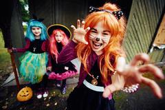 Halloween fright Stock Photos