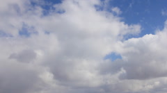 Clouds darkening on the sky Stock Footage