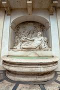 Arno Fountain in Rome Stock Photos