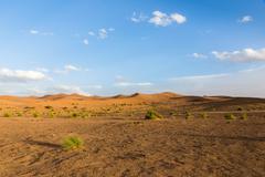 Sahara desert, Morocco Stock Photos
