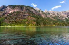 Avalanche lake Stock Photos