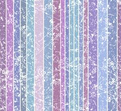 Seamless burn color dim grunge style shabby full color stripe pattern. Vector - stock illustration