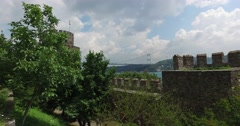 Rumeli fortress Stock Footage