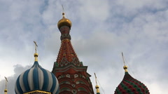 Monument to Minin and Pozharsky. Red Square, Moscow. Stock Footage