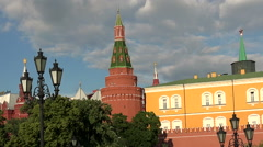 Manege Square in Moscow. Stock Footage