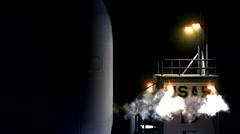 Delta 2 on Launchpad Stock Footage