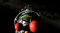 Kepler Mission Spacecraft Stock Footage