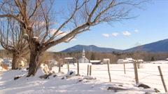 4 Seasons Time Lapse, NH Stock Footage