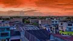 Iquitos, Peru Timelapse Stock Footage