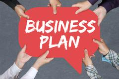 Group of people holding business plan analysis strategy success company - stock photo