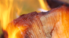 Real Fire Flame Stock Footage