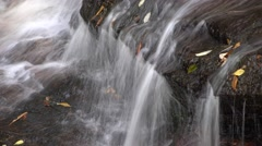 Mountain Tumbling Stream, Autumn in Appalachia - stock footage