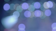 Colored electric lights. Background Stock Footage