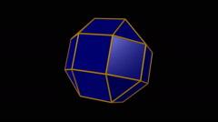 Rhombicuboctahedron Stock Footage