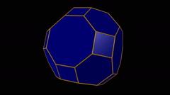 Truncated rhombicuboctahedron Stock Footage