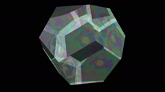 Dodecahedron Stock Footage