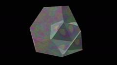 Truncated tetrahedron Stock Footage