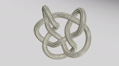 Mathematical Knot Stock Footage