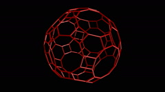 Truncated icosidodecahedron Stock Footage