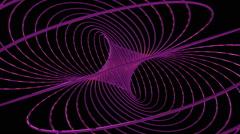 Hopf fibration showing Villarceau circles Stock Footage