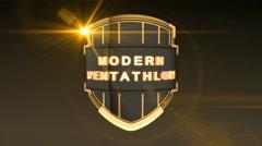 Modern Pentathlon - Orange Stock Footage