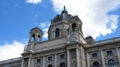 Kunsthistorisches Museum Wien Stock Footage