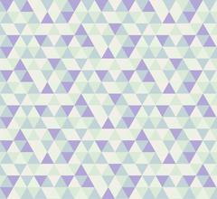 Abstract geometric triangle pattern background - stock illustration