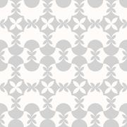 Seamless pattern. Classical geometrical texture, symmetrical Stock Illustration