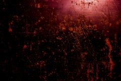 dark old scary rusty rough golden and copper metal surface texture/background - stock photo