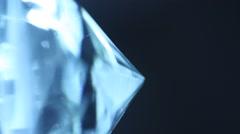 Diamond Crystal Stock Footage