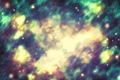 Abstract Starry Background - stock illustration
