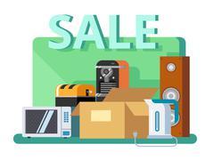 Cyber monday concept Stock Illustration