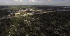 Orlando Florida Aerial View Stock Footage