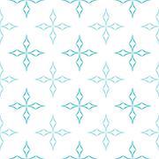 Curved Diamonds Pattern - stock illustration