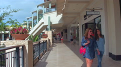 Shops at Merrick Park Miami Florida Stock Footage